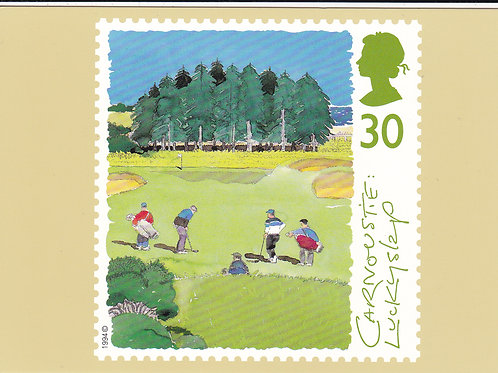 Carnoustie Stamp PC Ref.1648 C.1994