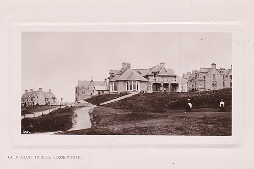 Lossiemouth Golf House & 18th Green Ref.421 C.1910
