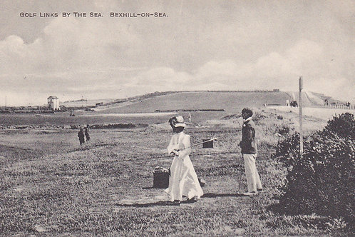 Bexhill-on-Sea Golf Links.Ref 520. C.Pre 1918