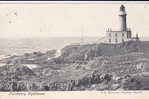 Turnberry Lighthouse. Ref 444 C 1907