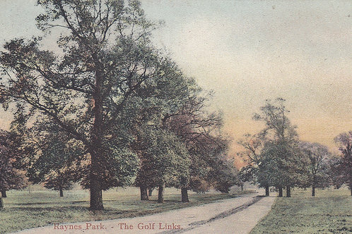 Raynes Park Golf Links.Ref 197. C.1905-15