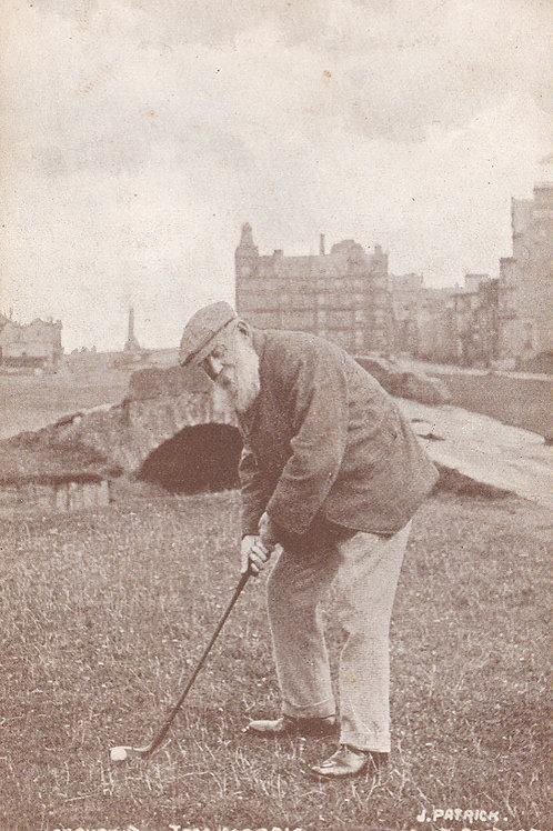 Tom Morris at St.Andrews.Ref 352. C.1902-4