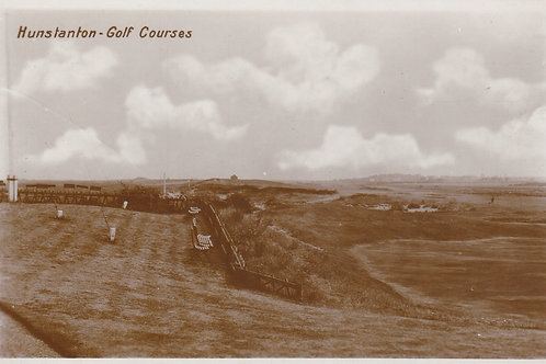 Hunstanton Golf Links  (2) Cards.Ref 733-&4. C.19