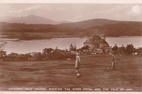 Kippford Golf Course,Dumfreis Ref.085 C.1932