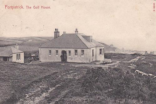 Portpatrick Golf House C.1914 Ref 1222a