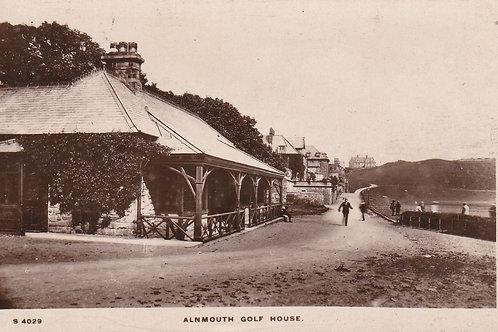 Alnmouth Golf Pavilion Ref 447 C.1912