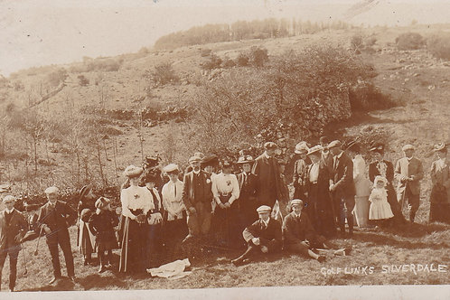Silverdale Golf Links,Lancs Ref.2117a C.1908