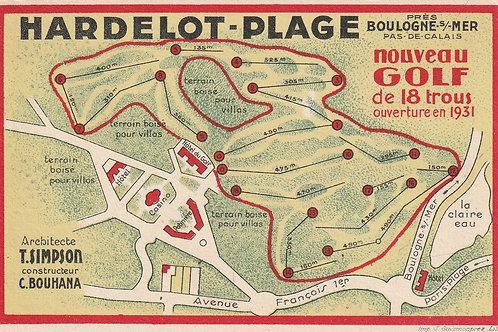 Hardelot Les Pins Golf Links  Ref.2653 C.1934