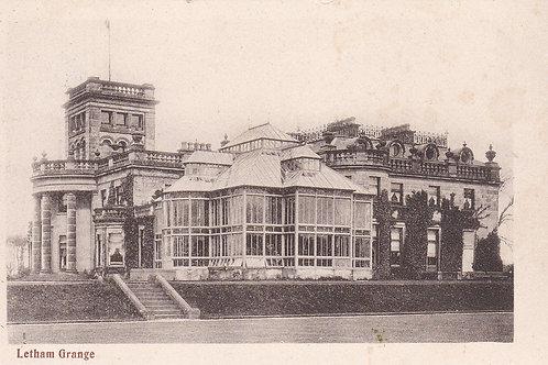 Letham Grange Golf House Ref.2252a C.1904