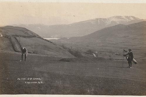SOLD> Ref.2508.Embleton, Golf Course, Cumbria Ref.2508 C.Ea 1900
