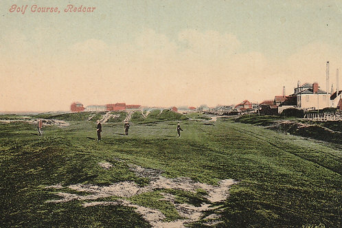 Redcar Golf Links Ref.2559 C.1900-09
