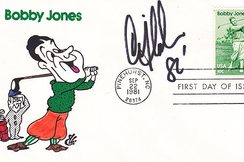 Honouring Bobby Jones Comm Cover. Ref CC 10.C.1981