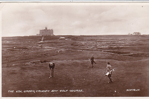SOLD>Ref.621.Cruden Bay Golf Club C.1920s Ref 621