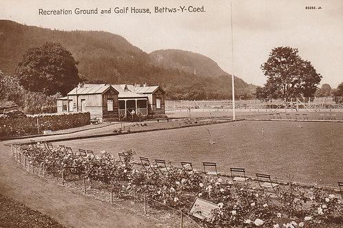 Bettws-Y-Coed Golf Pavilion Ref.2767 C.1910-19