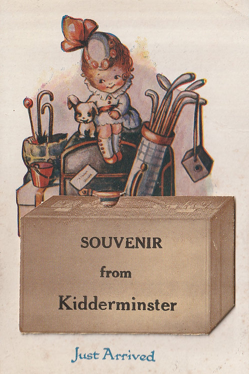 Kidderminster Novelty PC Ref.2296a C.1910-18