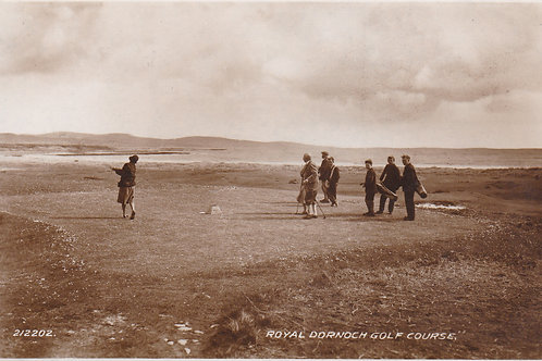 Royal Dornoch Golf Course.Ref 583. C.1930s