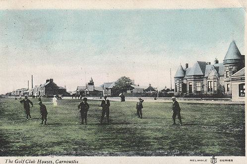 Carnoustie Golf Club Houses & Links Ref.2813 C.1903