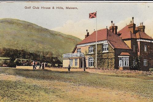 Worcestershire Golf Club House C.1915-25 Ref.1322