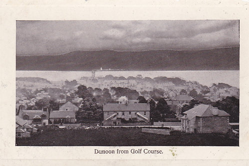 Cowal Golf House Dunoon Ref.2179a C.Pre 1914