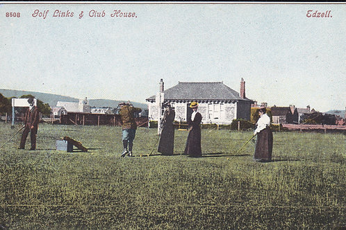 Edzell Golf Links & Pavilion C.Pre 1914 Ref.1612.
