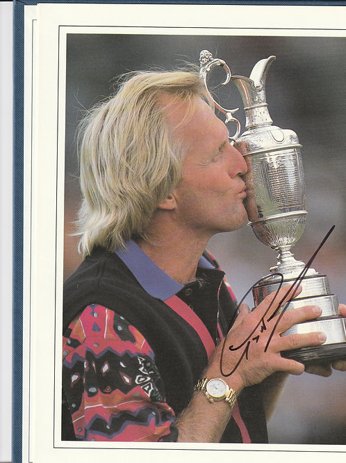 Signed British Open Golf Championship Annual Ref.124 St.Georges 1993