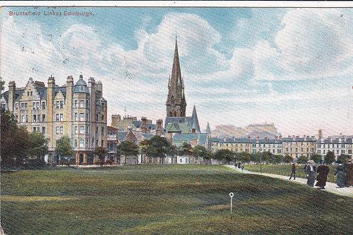 SOLD>Ref.1266.Bruntsfield Links,Edinburgh Ref 1266  C.1905