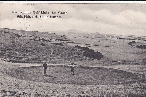 West Runton Golf Links Ref.1519 C.1908