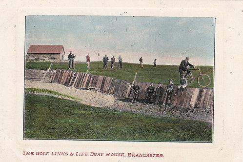 Brancaster Links,Life Boat House.Ref 006 C.1905-10