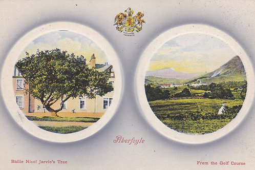 Aberfoyle Golf Links Ref.1911 C1905-10