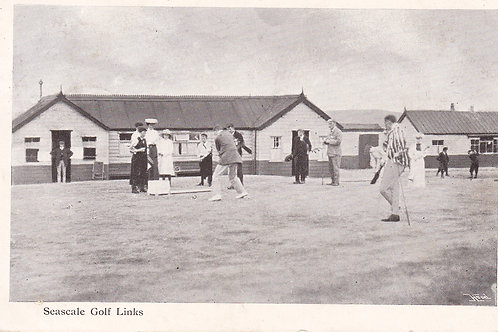 Seascale Golf Club House.Ref 798. C.1905