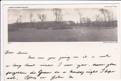 Ganton Golf Course Railway PC.Ref.596 C.1903