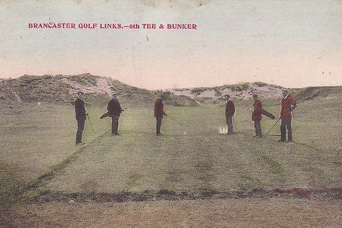 SOLD>Ref.007.Brancaster Golf Links,Norfolk C.1906