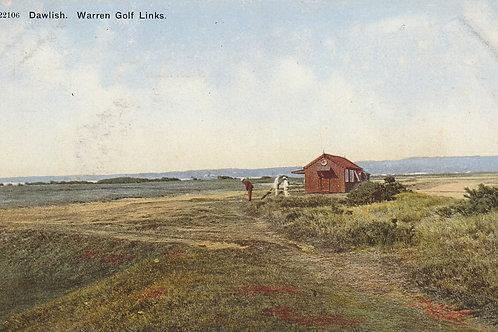 Warren Golf Links,Dawlish, Ref.2478 Pre 1910