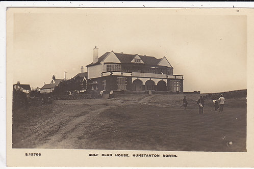 Hunstanton Golf Links (Old) & Club House Ref.1273 C.1910-15