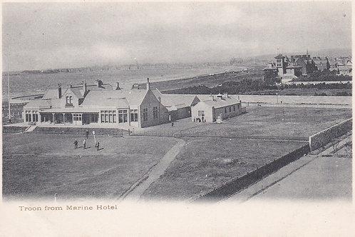 SOLD>Ref.022.Troon Club House/Marine Hote.Ref 022. C.Pre1914