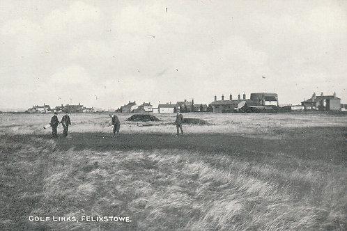 Felixstowe Golf Links Ref.2416 C.Pre 1914