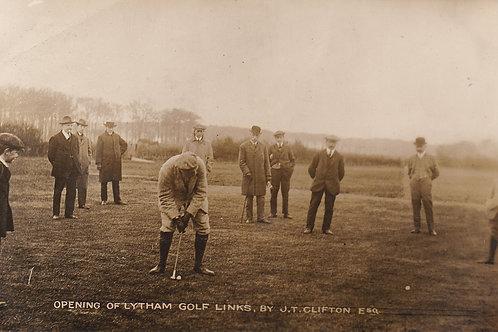 Lytham(Green Drive) G.C.Opening.Ref 304. C.1913