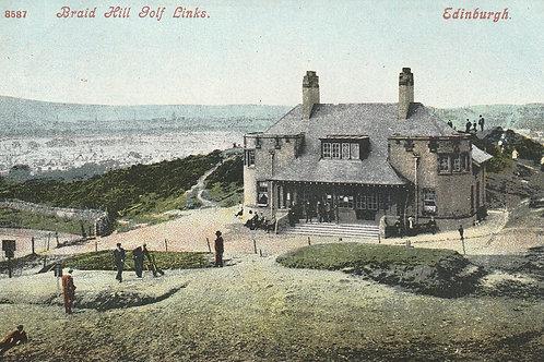Braid Hills Golf Club House, Edinburgh C.1908Ref.629a C.1908