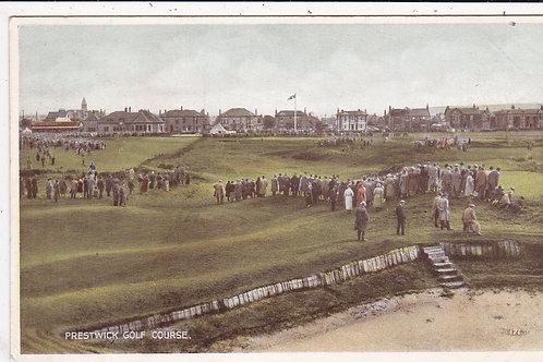Prestwick(Old) Golf Links Ref 1458 C.1925 ?