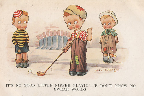 Comic Golf Childrens PC. Ref.2517 C.1930s