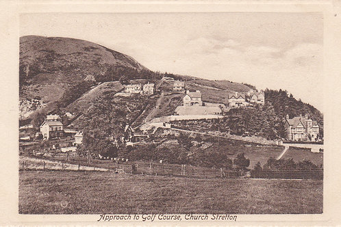 SOLD>Ref.033.Church Stretton G. C.(Aproach) Ref 033.C.Pre -1914
