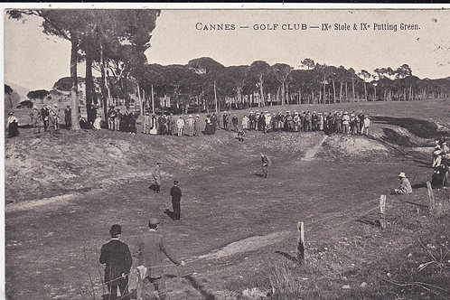 SOLD>Ref.1537.Vardon v Braid Cannes Golf Links C.1907 Ref.1537