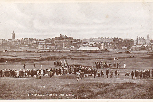 St.Andrews from The Golf Links.Ref 300  C.1930s
