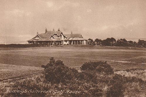 Budleigh Salterton Golf Pavilion Ref. 2592 C.1925