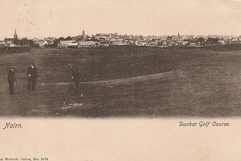 Nairn Dunbar Golf Links Ref.2386 C.1902-06