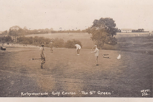 SOLD>Ref.1841.Kirbymoorside Golf Course Ref.1841 C.Ea 1900s