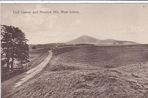 West Linton Golf Course Ref.1408 C.1931