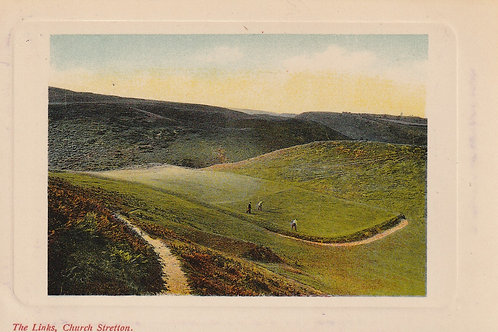 SOLD> Ref.2351Church Stretton Golf Links Ref.2351 C.1910-14