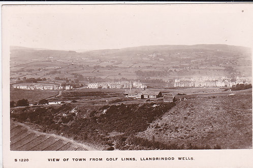 Llandrindod Wells Golf Links & Town Ref.1202 C.1912