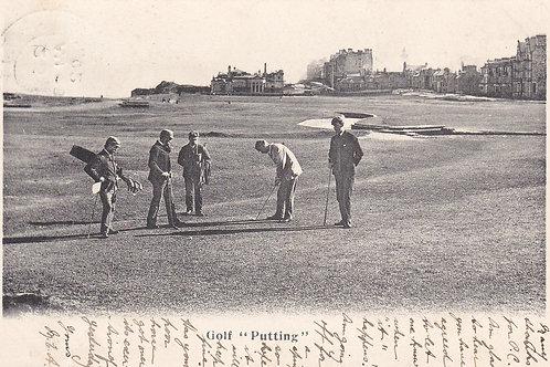 Hugh Kirkcaldy 1891 Open Champion Ref 305.C.1902